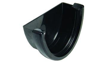 Picture of FLOPLAST HI-CAP EXTERNAL STOP END (BLACK)