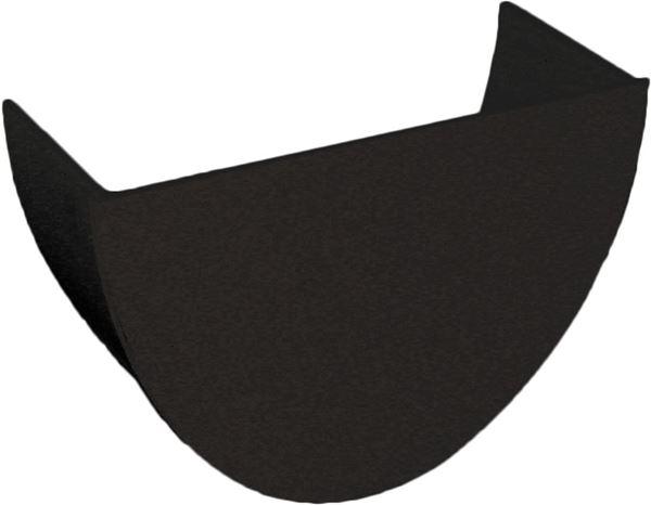 Picture of FLOPLAST HI-CAP INTERNAL STOP END (BLACK)