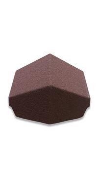 Picture of METROTILE 135 DEG HIP END CAP (BURNT UMBER)