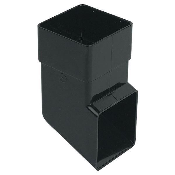 Picture of FLOPLAST SQUARE SHOE (BLACK)