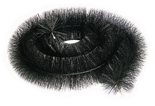 Picture of HEDGEHOG GUTTER BRUSH 4M (BLACK)