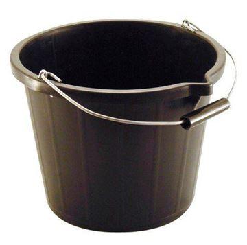 Picture of BLACK PLASTIC BUCKET