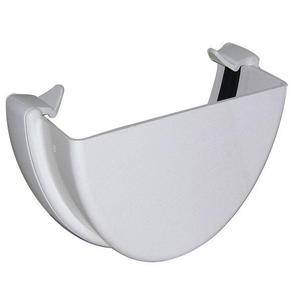 Picture of FLOPLAST HI-CAP EXTERNAL STOP END (WHITE)