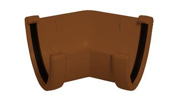 Picture of FLOPLAST HI-CAP 135 DEG ANGLE (BROWN)