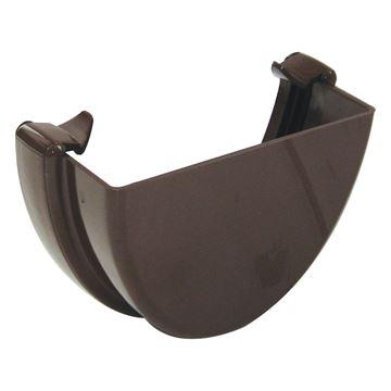 Picture of FLOPLAST HI-CAP EXTERNAL STOP END (BROWN)