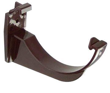 Picture of FLOPLAST ROUND GUTTER BRACKET (BROWN)