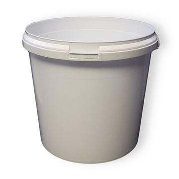 Picture of WHITE PLASTIC BUCKET (5 Litre)