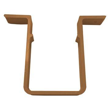 Picture of SQUARE PIPE CLIP (CARAMEL)