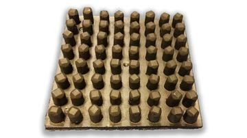 Picture of REPLICA WOOD PEG BOARD (BLACK)