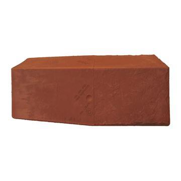 Picture of TAPCO RIDGE CAP BRICK RED